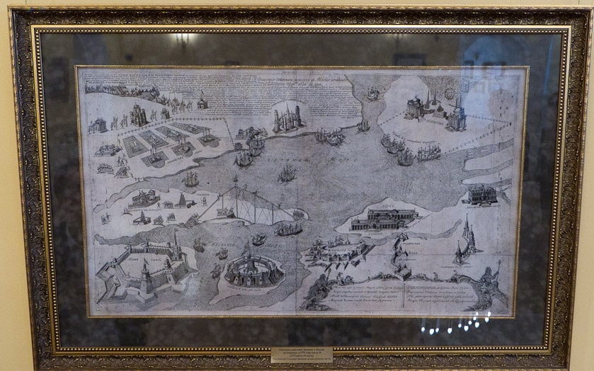 Пруды, изображающие Черное и Азовские моря